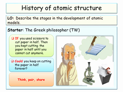 History Of the atom Worksheet Awesome New Aqa Ks4 atomic Structure Low Ability by Mjd33