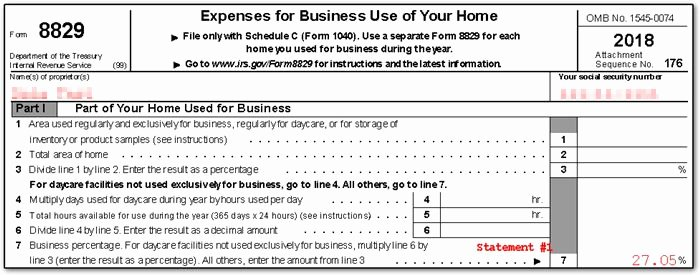 Home Daycare Tax Worksheet Luxury form 8829 Fice In Home 8829 K1