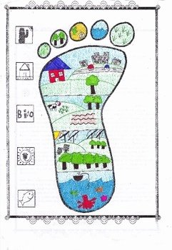 Human Footprint Worksheet Answers Beautiful My Ecological Footprint by Biology Buff