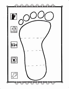 Human Footprint Worksheet Answers Best Of My Ecological Footprint by Biology Buff