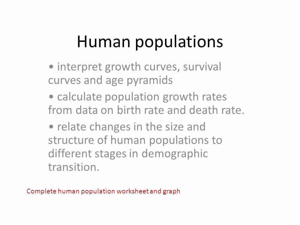 Human Population Growth Worksheet Answer Beautiful Human Population Growth Worksheet