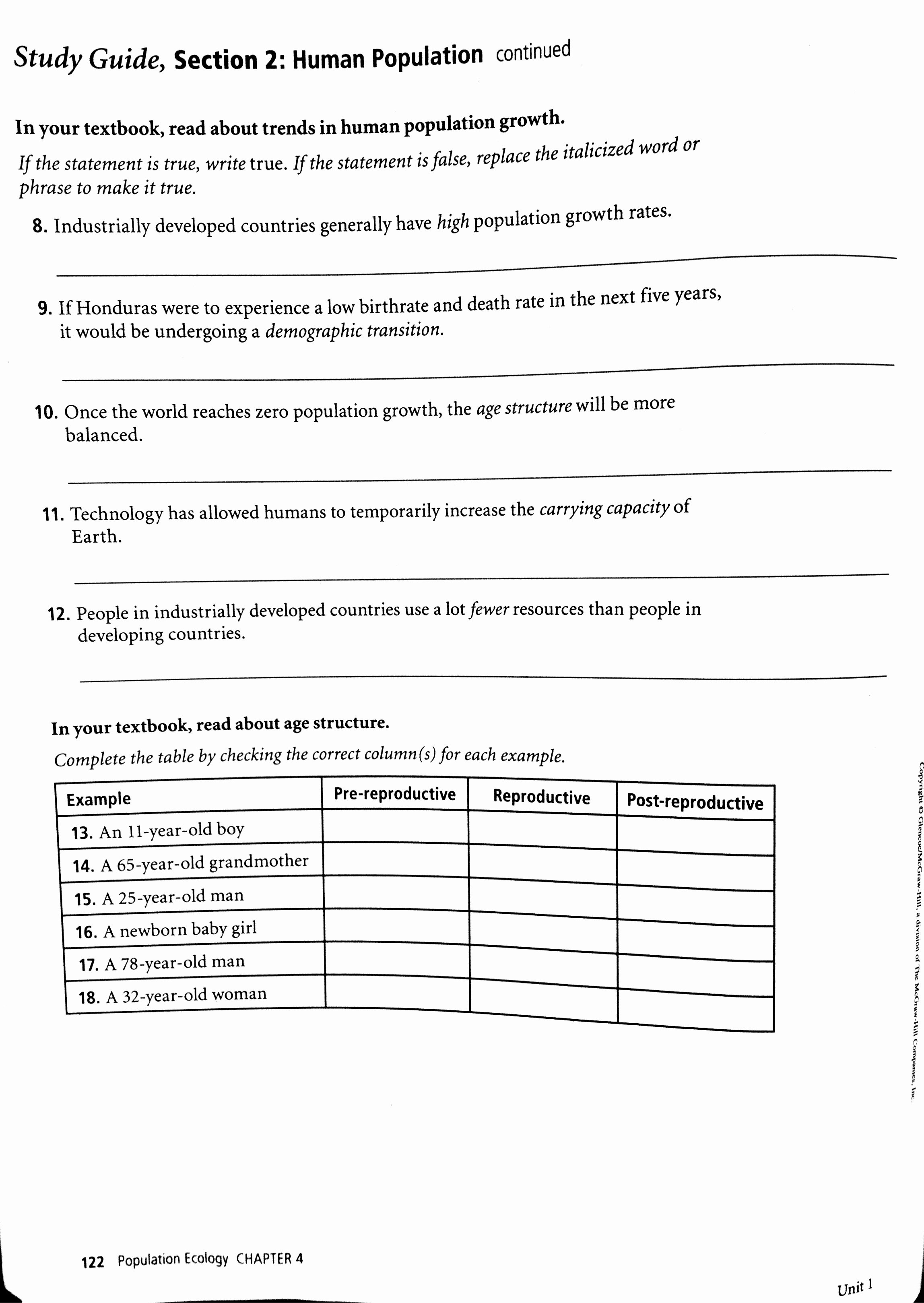 Human Population Growth Worksheet Answer New Worksheet Human Population Growth Worksheet Grass Fedjp