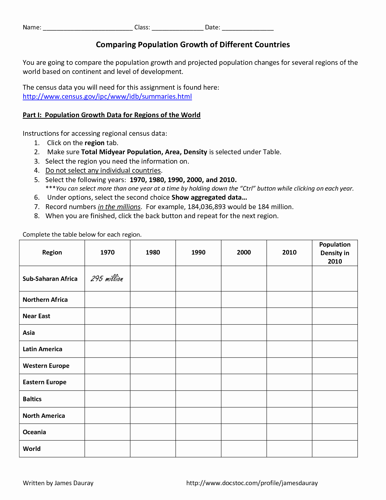 Human Population Growth Worksheet Unique 10 Best Of Density Practice Worksheet Middle School