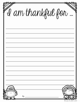 I Am Thankful for Worksheet Beautiful I Am Writing Papers and Thanksgiving On Pinterest