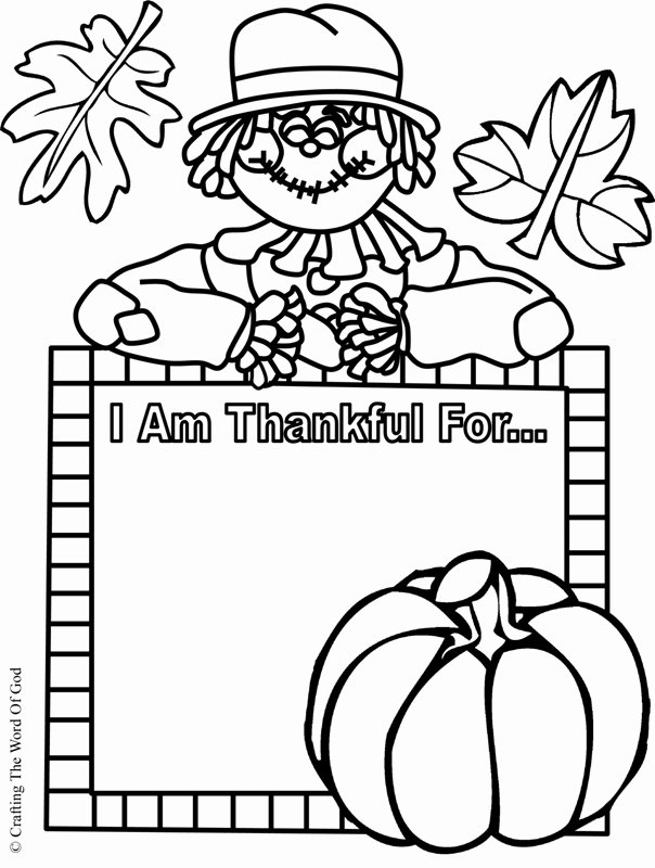 I Am Thankful for Worksheet Lovely I Am Thankful Activity Sheet Crafting the Word God