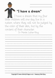 I Have A Dream Worksheet Inspirational 1000 Images About Mlk Teaching Resources On Pinterest