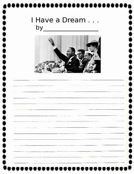 I Have A Dream Worksheet Luxury I Have A Dream Writing Worksheet by when I Grow Up I Want