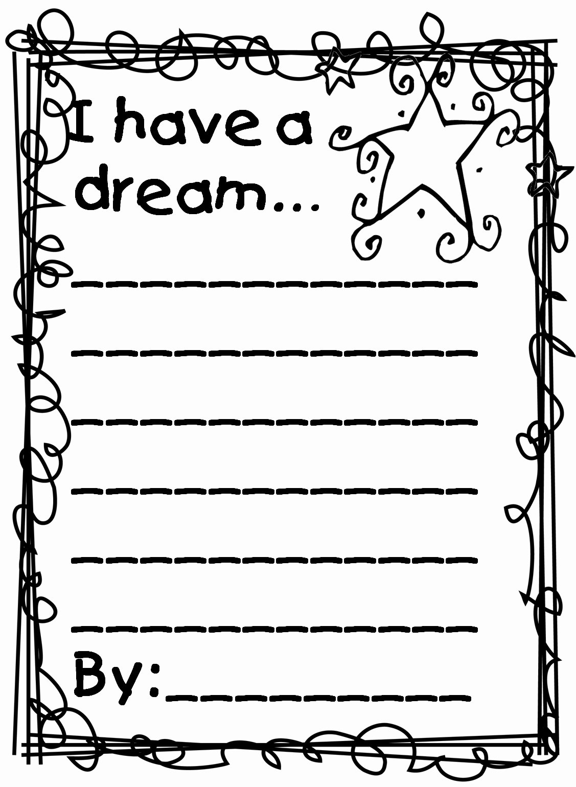 I Have A Dream Worksheet Luxury Martin Luther King Jr Coloring Pages and Worksheets Best