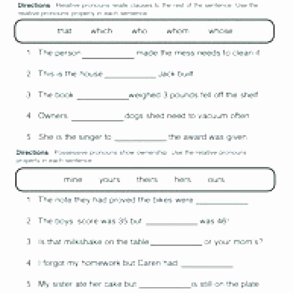 I Vs Me Worksheet Awesome Pronoun Worksheets for Grade 1 – Owobox