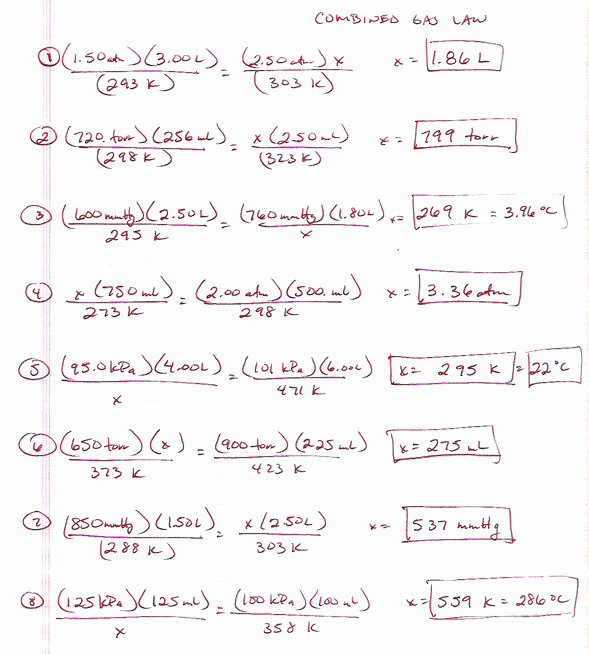 Ideal Gas Law Worksheet Fresh Ideal Gas Law Worksheet