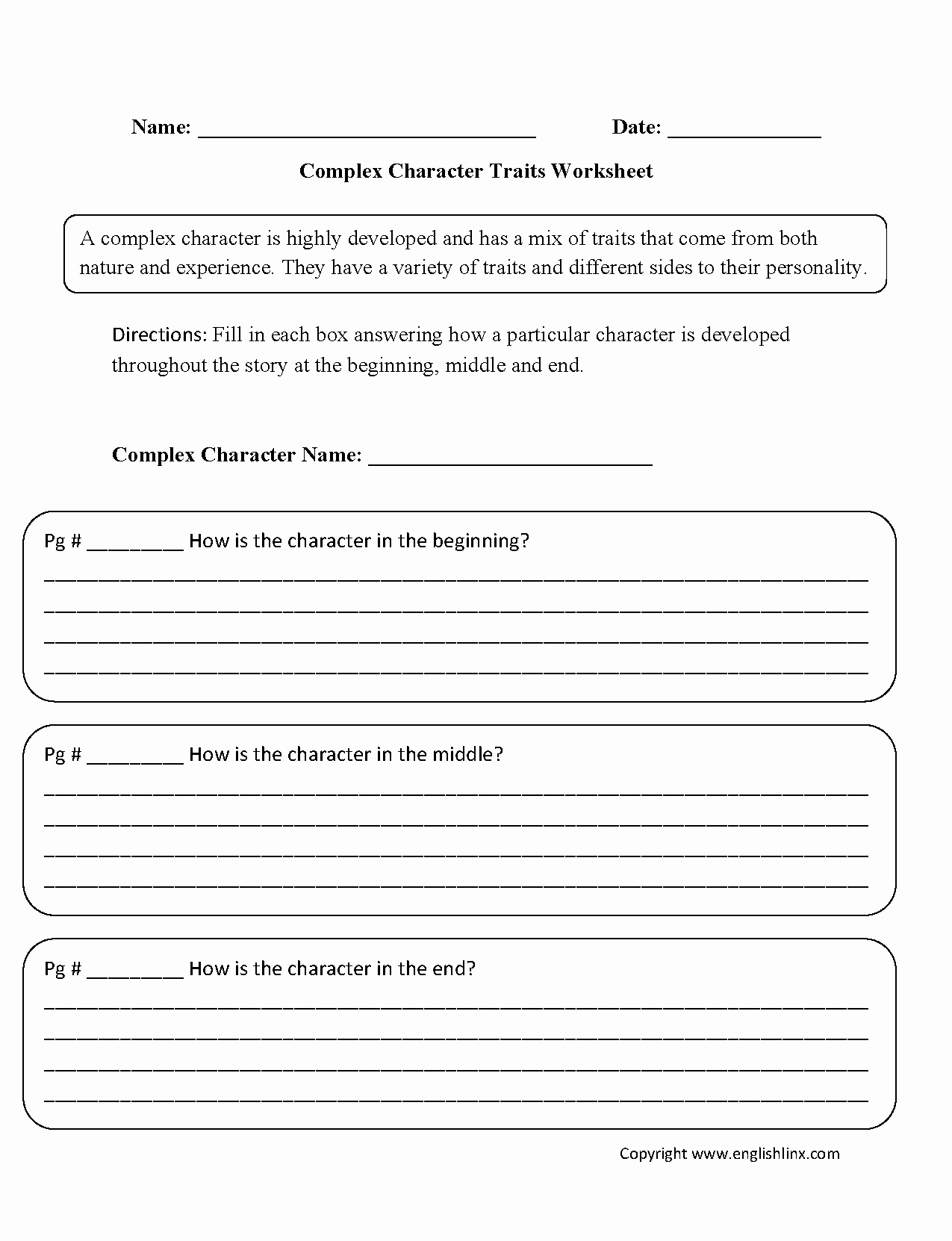 Identifying Character Traits Worksheet Elegant Inferring Character Feelings Worksheet