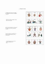 Identifying Character Traits Worksheet Fresh English Worksheets Character Traits