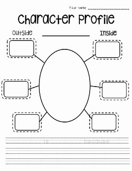 Identifying Character Traits Worksheet Inspirational Character Profile Of Character Traits by the Artsy Apple