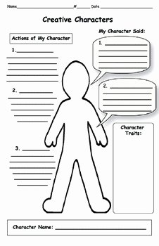 Identifying Character Traits Worksheet Lovely Character Traits Map by Two Snappy Gingers