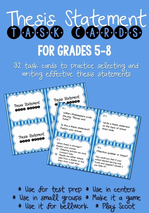 Identifying thesis Statement Worksheet Best Of Pinterest • the World's Catalog Of Ideas