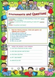 Identifying thesis Statement Worksheet Lovely English Worksheets Statements and Questions