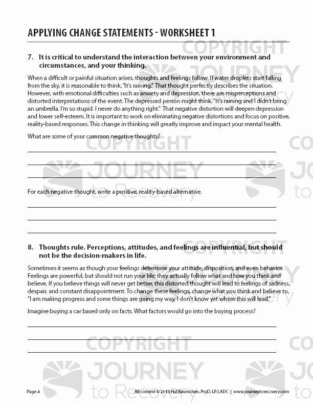Identifying thesis Statement Worksheet Luxury Applying Change Statements Worksheet 1 Cod Journey