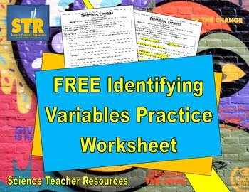 Identifying Variables Worksheet Answers Fresh Free Identifying Variables Practice by Science Teacher
