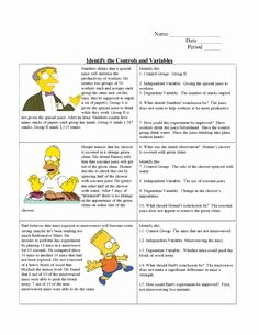 Identifying Variables Worksheet Answers New Ag Science Hypothesis Worksheet Answers