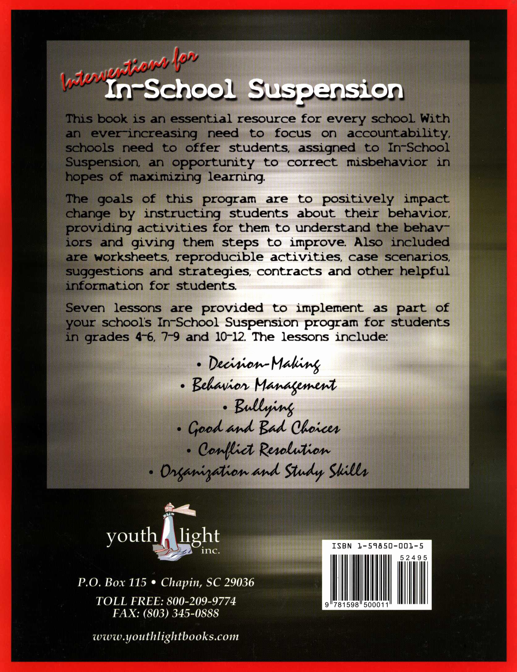 In School Suspension Worksheet Best Of Interventions for In School Suspension