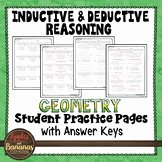 Inductive and Deductive Reasoning Worksheet Awesome Inductive and Deductive Reasoning Worksheets & Teaching