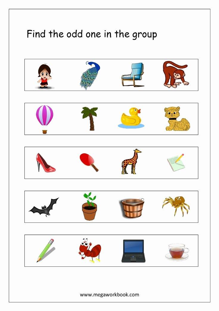 Inside the Living Body Worksheet Fresh Odd E Out Worksheet 4 Living and Non Living