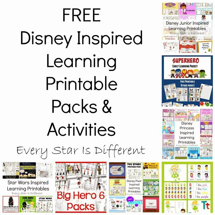 Inspired Educators Inc Worksheet Answers Unique Free Disney Inspired Learning Printable Packs & Activities