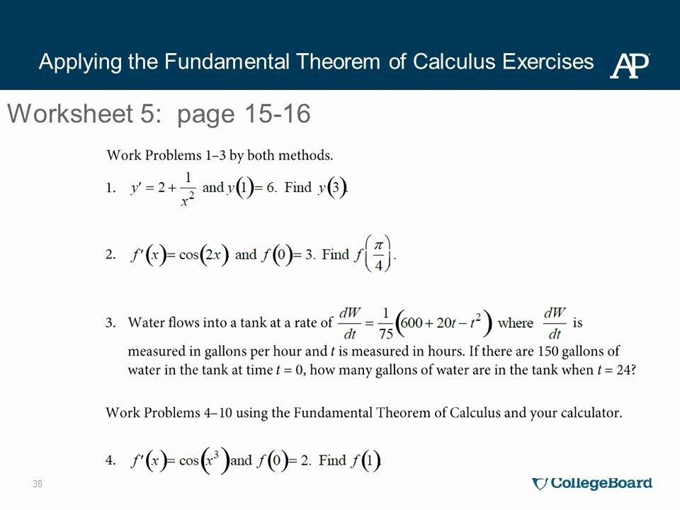 Intermediate Value theorem Worksheet Fresh Ap Calculus Worksheet 24 Freeonlinequizzestests