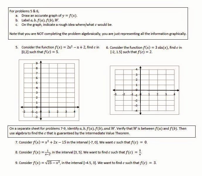 Intermediate Value theorem Worksheet Fresh Math Teacher Mambo Intermediate Value theorem