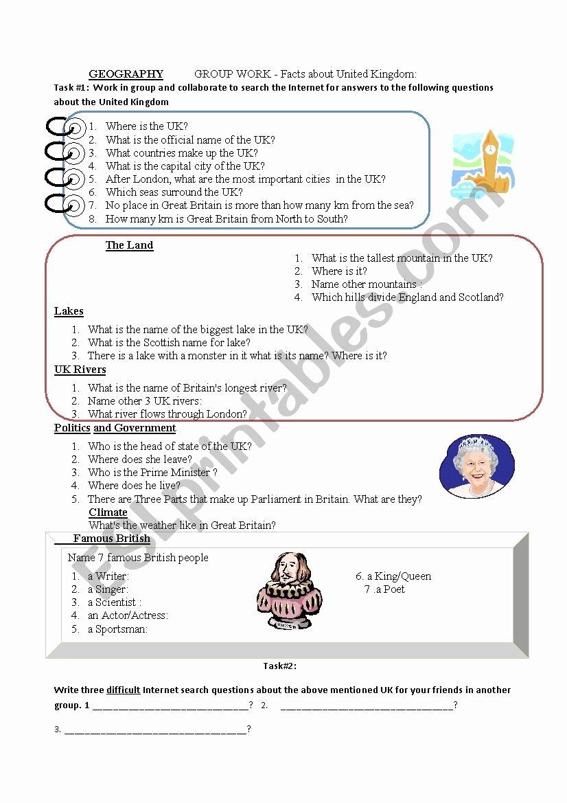 Internet Scavenger Hunt Worksheet Inspirational Internet Scavenger Hunt Esl Worksheet by Profpaolino