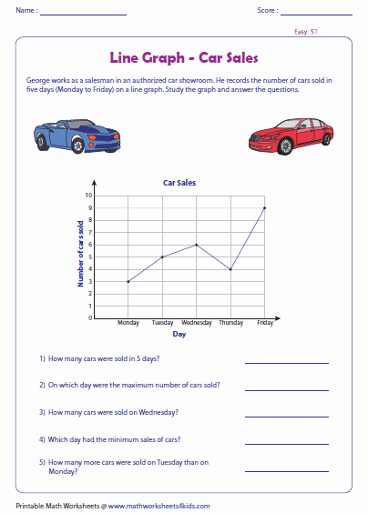 Interpreting Graphs Worksheet Answers Elegant Line Graph Worksheets