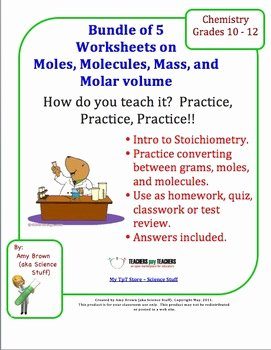Introduction to Chemistry Worksheet Awesome Introduction to Stoichiometry Worksheets Bundle Of 5