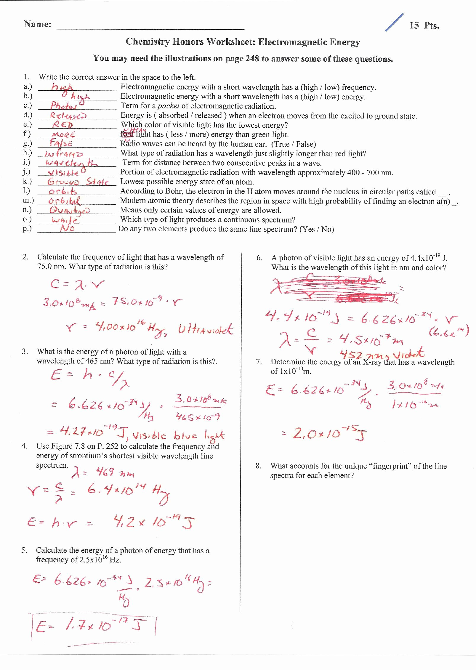 Introduction to Energy Worksheet Awesome Introduction to Energy Worksheet Answers the Best