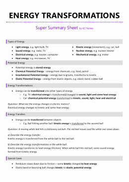 Introduction to Energy Worksheet Beautiful Introduction to Energy Worksheet