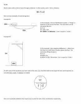 Introduction to Energy Worksheet New Conservation Of Energy Worksheet 1