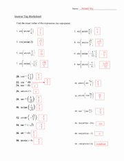 Inverse Functions Worksheet with Answers Inspirational Maria Carrillo High Course Hero