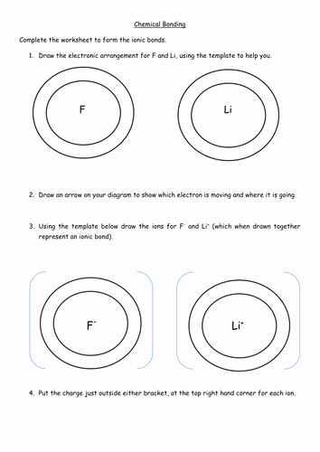 Ionic Bonding Worksheet Key Best Of Ionic Bonding Worksheet by Jechr