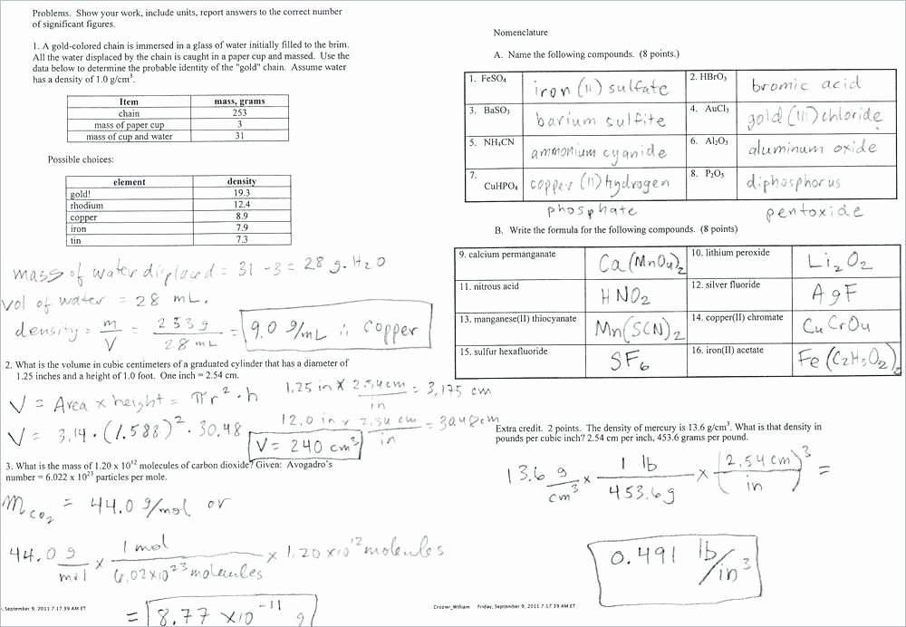 Isotope Practice Worksheet Answer Key Elegant isotope Notation Chem Worksheet 4 2