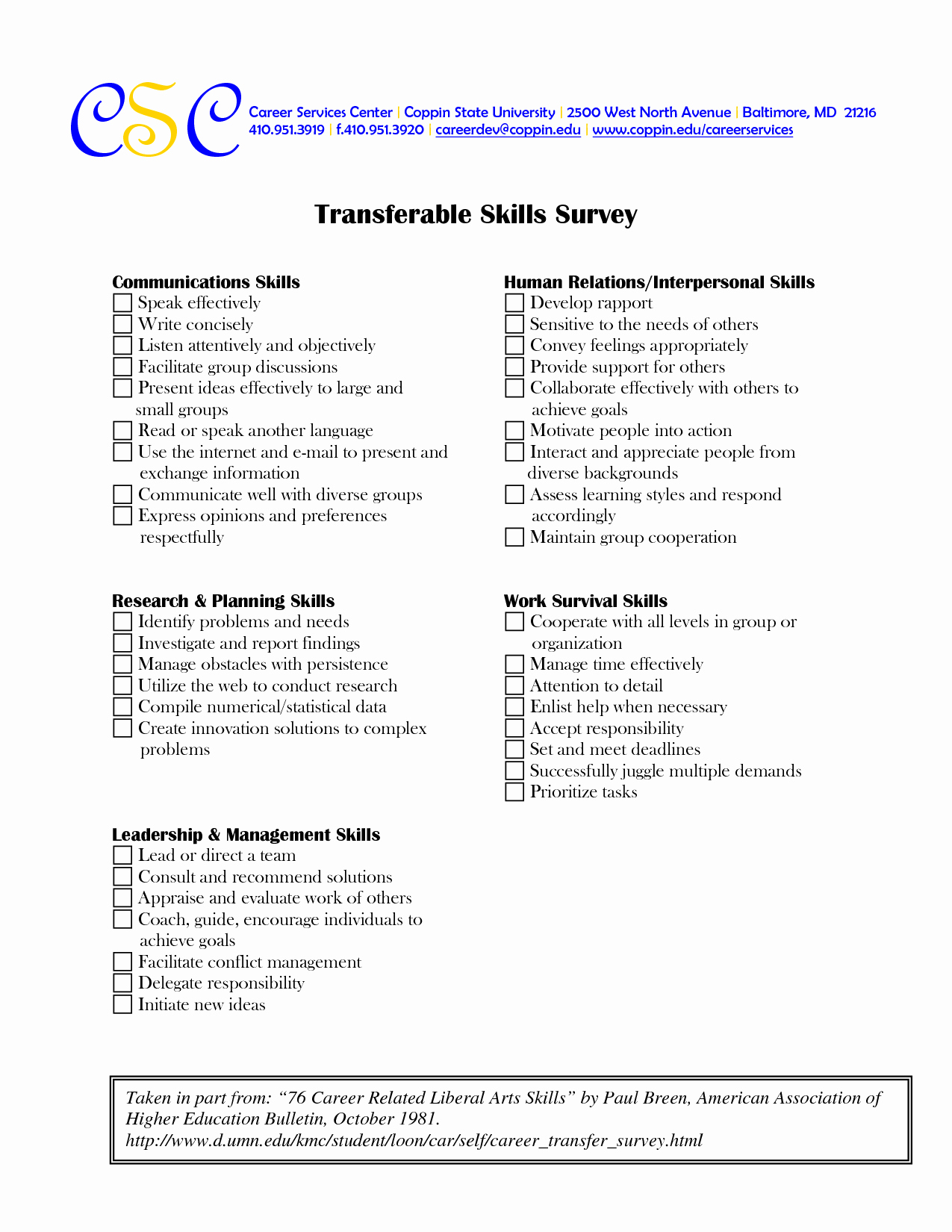 Job Skills assessment Worksheet Awesome 17 Best Of Career Skills Worksheets Job Skills