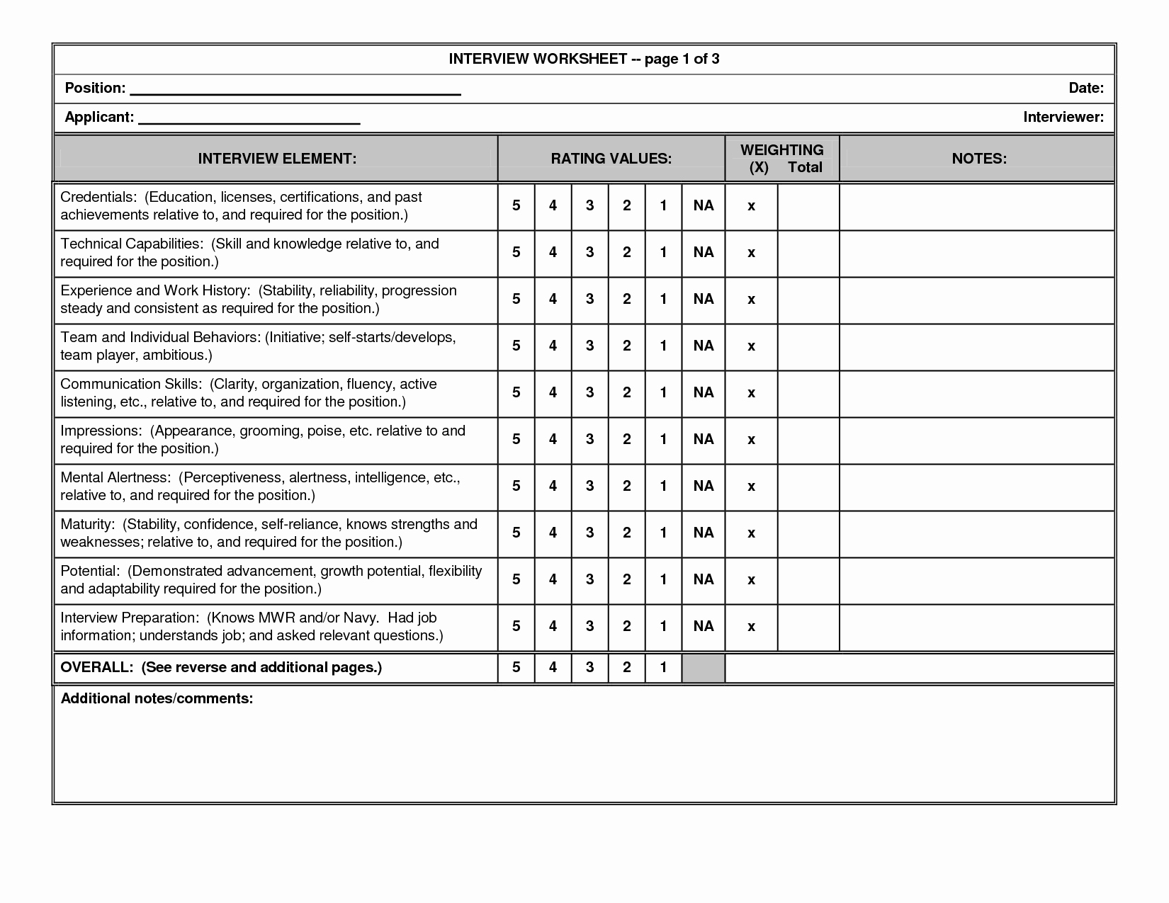 Job Skills assessment Worksheet New 15 Best Of Career Experience Worksheets Career