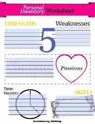 Job Skills assessment Worksheet New Pinterest • the World's Catalog Of Ideas