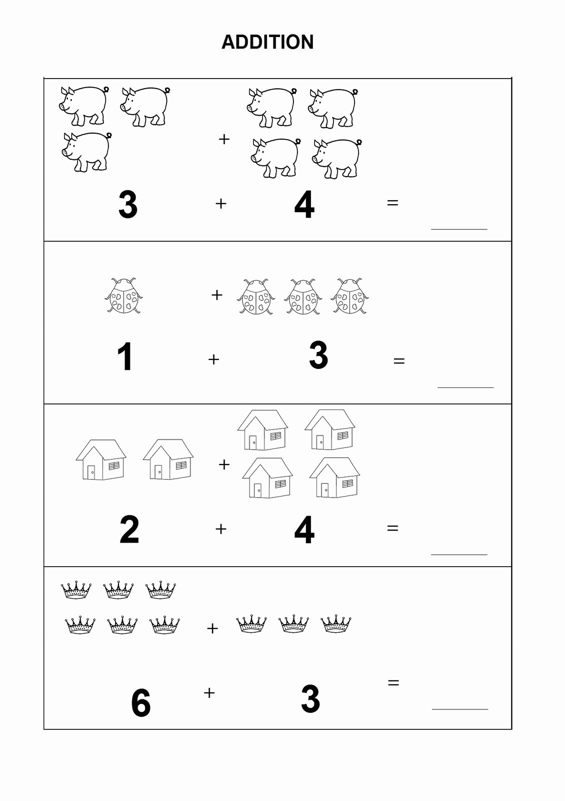 Kindergarten Math Worksheet Pdf Awesome Kindergarten Math Worksheets Pdf Addition – Learning Printable