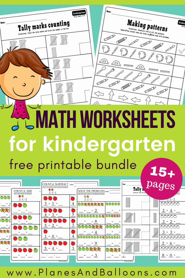 Kindergarten Math Worksheet Pdf Luxury 15 Kindergarten Math Worksheets Pdf Files to for