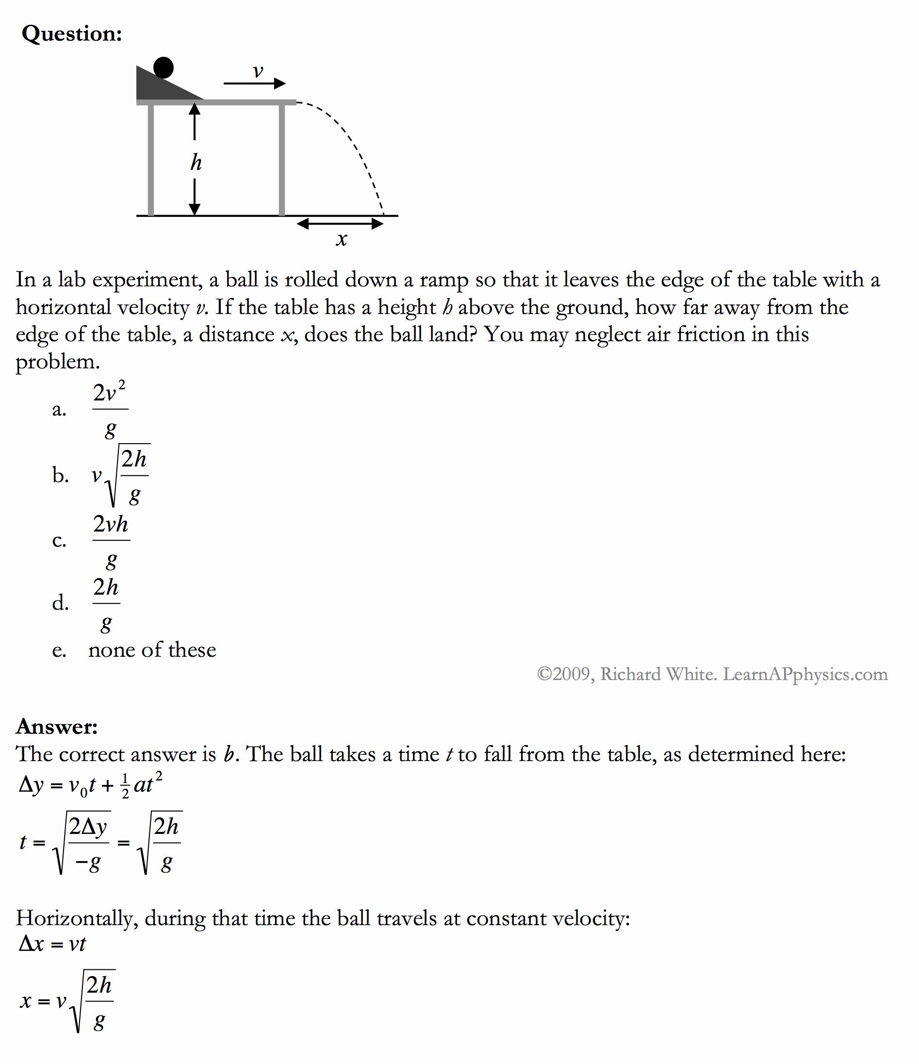 Kinematics Practice Problems Worksheet Inspirational Learn Ap Physics Ap Physics 1 & 2 Kinematics