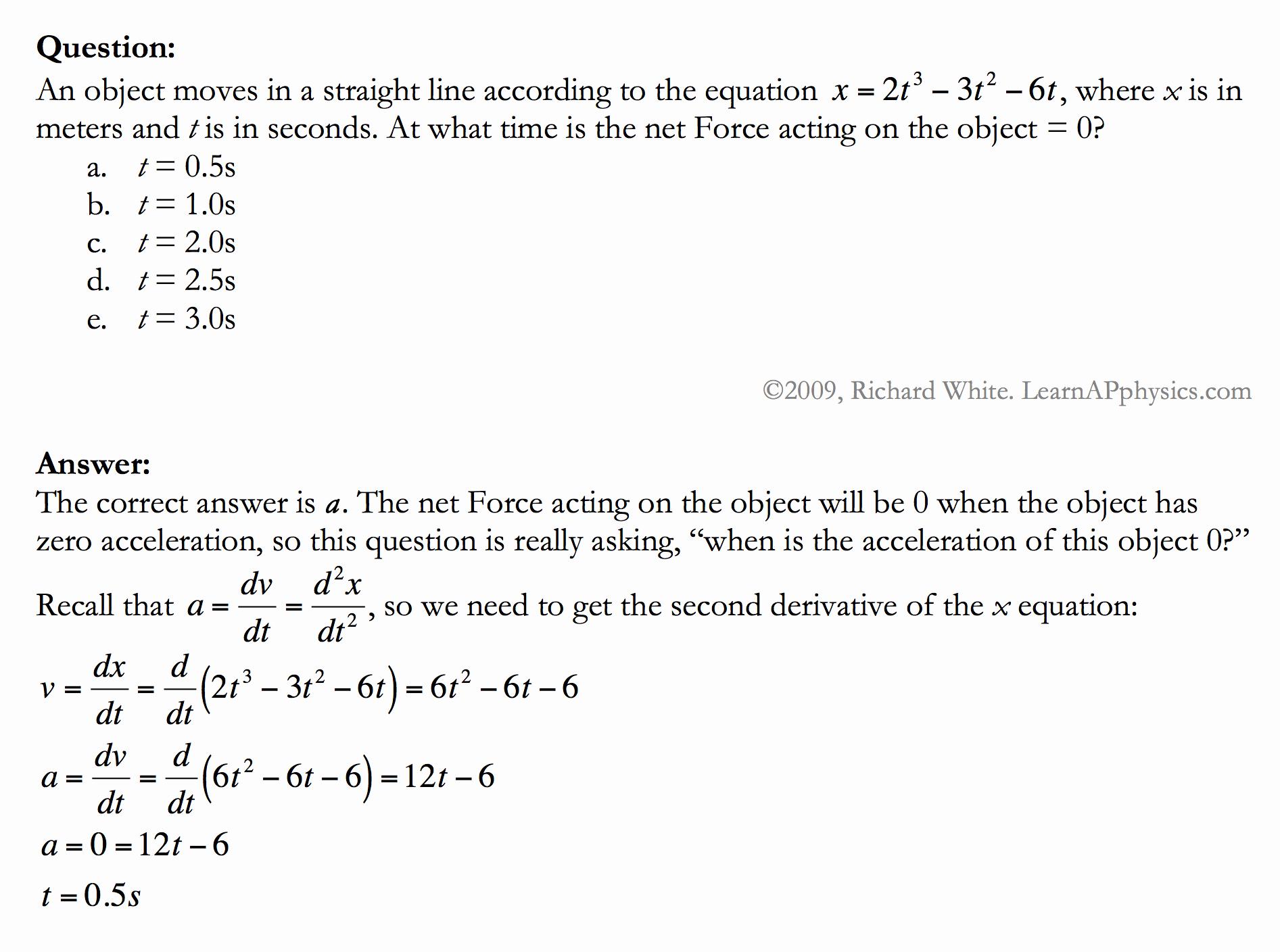 Kinematics Practice Problems Worksheet Luxury Learn Ap Physics Kinematics