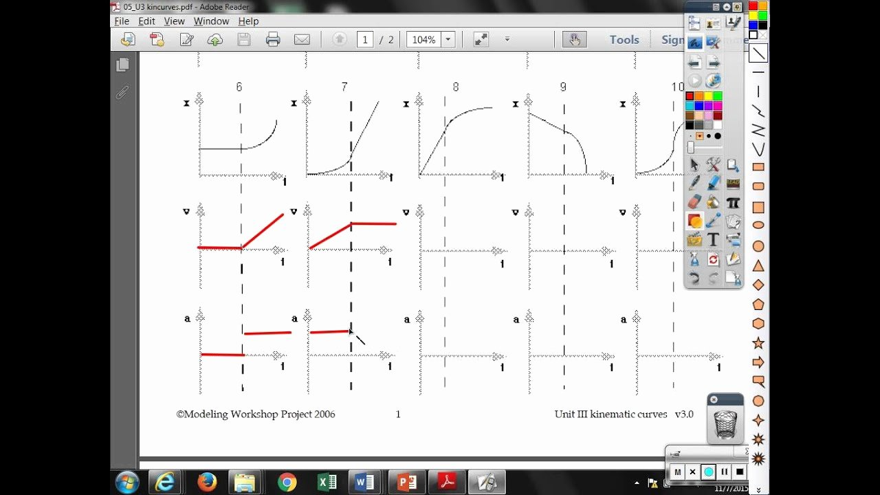 Kinematics Worksheet with Answers Lovely Unit Iii Stacks Of Kinematic Curves Graphs 6 10