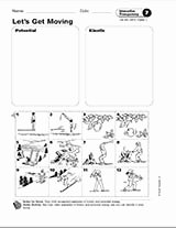 Kinetic and Potential Energy Worksheet Best Of Potential and Kinetic Energy Teachervision