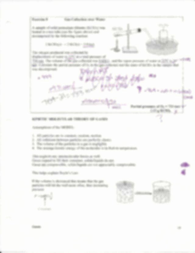 Kinetic Molecular theory Worksheet Luxury Kinetic Molecular theory Worksheet