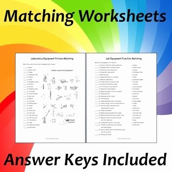 Lab Equipment Worksheet Answer Key Best Of 17 Best Ideas About Lab Equipment On Pinterest
