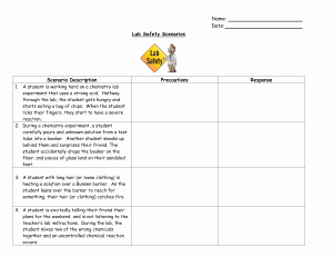 Lab Equipment Worksheet Answer Key Fresh Worksheet – Lab Equipment St James Physical Science